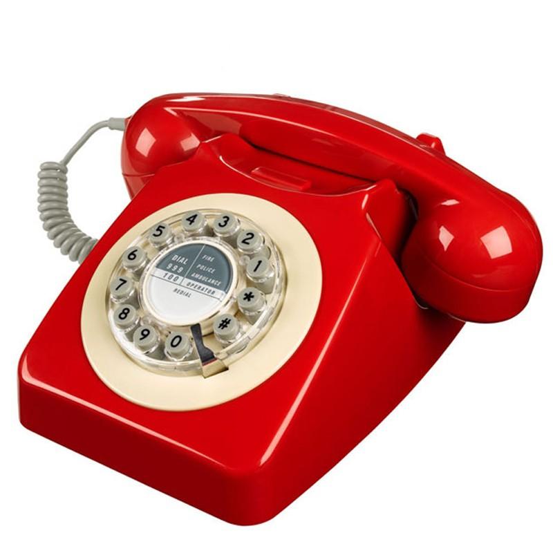 Teléfono 746 - Rojo