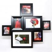 Aurora frame  marco para 7 fotos