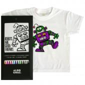 Camiseta + 12 rotus 'Good Friends'