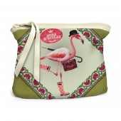Bolso de mano- Flamingo